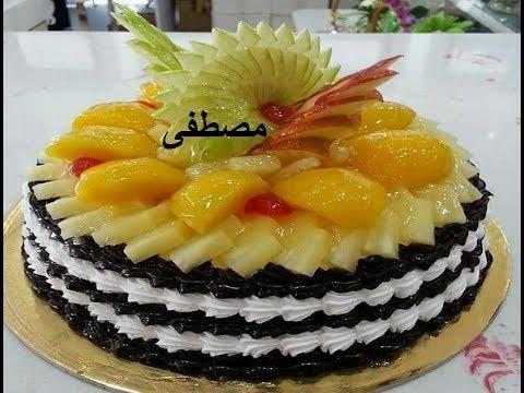 صورة تورتة عيد ميلاد باسم مصطفى , شوفى احلى تورته باسم مصطفى 4035